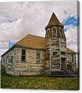 Shaniko Old Scool House Canvas Print
