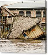 Shanty Town Disaster Canvas Print