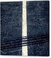 Shape No.35 Gray Scale Canvas Print