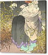 Shape Shifting Fox 1886 Canvas Print