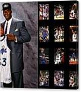 Shaquille O'neal Canvas Print