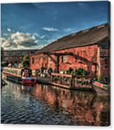 Shardlow Wharf Canvas Print