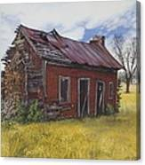 Sharecroppers Shack Canvas Print