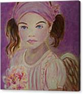Sharissa Little Angel Of New Beginnings Canvas Print