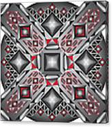 Sharp Optical Art J Canvas Print