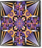Sharp Optical Art Q Canvas Print