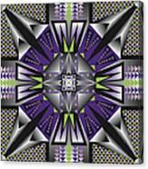 Sharp Tile Art D Canvas Print