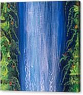 Shasta Falls Canvas Print
