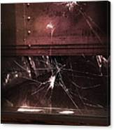 Shattered Window Canvas Print