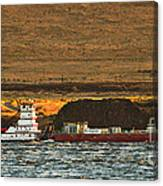 Shaver Tug On The Columbia River Canvas Print