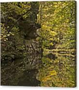 Shawnee Fall Reflection Canvas Print