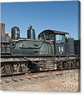 Shay Engine 14 In The Colorado Railroad Museum Canvas Print