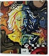 She Faces Canvas Print