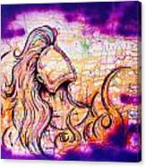 She Rose From Fire  Canvas Print