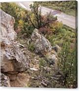 Sheep Creek Canyon Wyoming 6 Canvas Print
