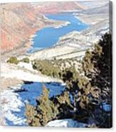 Sheep Creek  Canvas Print