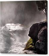 Sheep Falls Mist Canvas Print