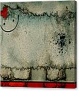 Sheep Or Not So - Bb06 Canvas Print