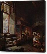 Sheffield Scythe Tilters Canvas Print