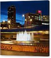 Sheffield Water Feature Canvas Print