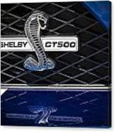 Shelby Gt 500 Canvas Print