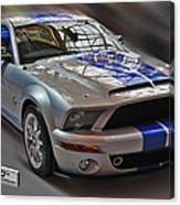 Shelby Gt500kr 2008 Canvas Print