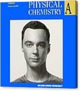 Sheldon Cooper Magazine Cover Canvas Print