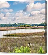 Sheldon Creek Bend Canvas Print