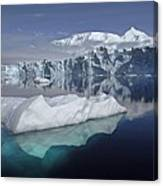 Sheldon Glacier Canvas Print