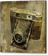 Shelf Camera Canvas Print