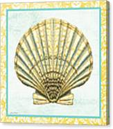 Shell Finds-a Canvas Print