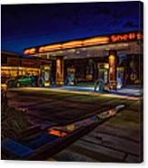 Shell Station Canvas Print