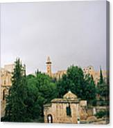 Historic Jerusalem Canvas Print