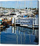 Shelter Island Yachts Canvas Print