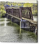 Shelton Derby Railroad Bridge Canvas Print