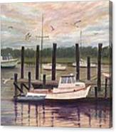 Shem Creek Canvas Print