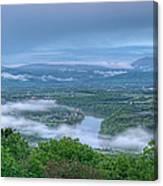 Shenandoah Evening Fog Canvas Print