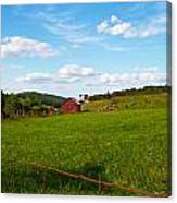 Shenandoah Farm Canvas Print