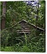 Shenandoah Log Cabin Canvas Print