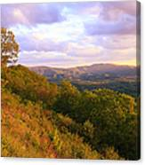 Shenandoah's Golden Hour  Canvas Print