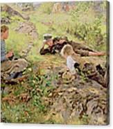Shepherds Canvas Print