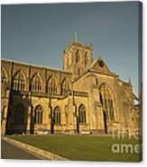 Sherborne Abbey  Canvas Print
