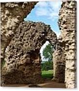 Sherborne Arches Canvas Print