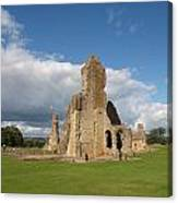 Sherborne Old Castle - 2 Canvas Print