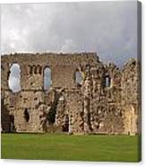 Sherborne Old Castle - 3 Canvas Print