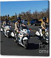 Sheriff's Motor Officers Canvas Print