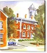 Sheriffs Residence With Courthouse Canvas Print
