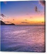 Sherri's Sunset St. Lucia Canvas Print