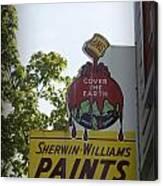 Sherwin Williams Canvas Print