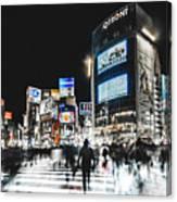Shibuya Crossing Canvas Print